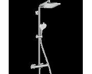 Душевая система hansgrohe Crometta Е 240 1jet Showerpipe с термостатом