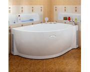 Акриловая ванна Chrome Мелани 140х95
