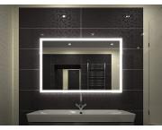 Зеркало Континент Mercury 100x70 со встроенной Led подсветкой