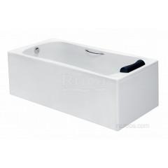 Акриловая ванна 170х80 Roca BeCool с сифоном и с экраном
