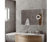 Зеркало Континент Elegant  Led 80x60, с подсветкой, сенсор, линза