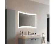 Зеркало Континент Silence Led 100x68, с подсветкой, сенсор