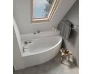 Акриловая ванна  SANTEK  Эдера 170х110 см, левая, асимметричная