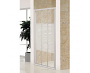 Дверь EGER 3-элементная раздвижная (90 х 185) см, хром 599-070-90