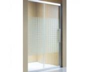 Душевое ограждение (дверь) GRAHAM&GRAHAM ECO-8V03B (120х185) см