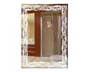 Klimi 45615 Прямоугольное зеркало с матированным рисунком