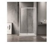 Душевая дверь Azario Milton 120 см AZ-ND6121 1200, хром/прозрачное